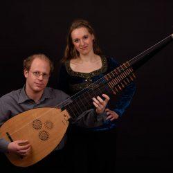Yuval Dvoran Laute, Anna Herbst - Sopran, by Chris Potter